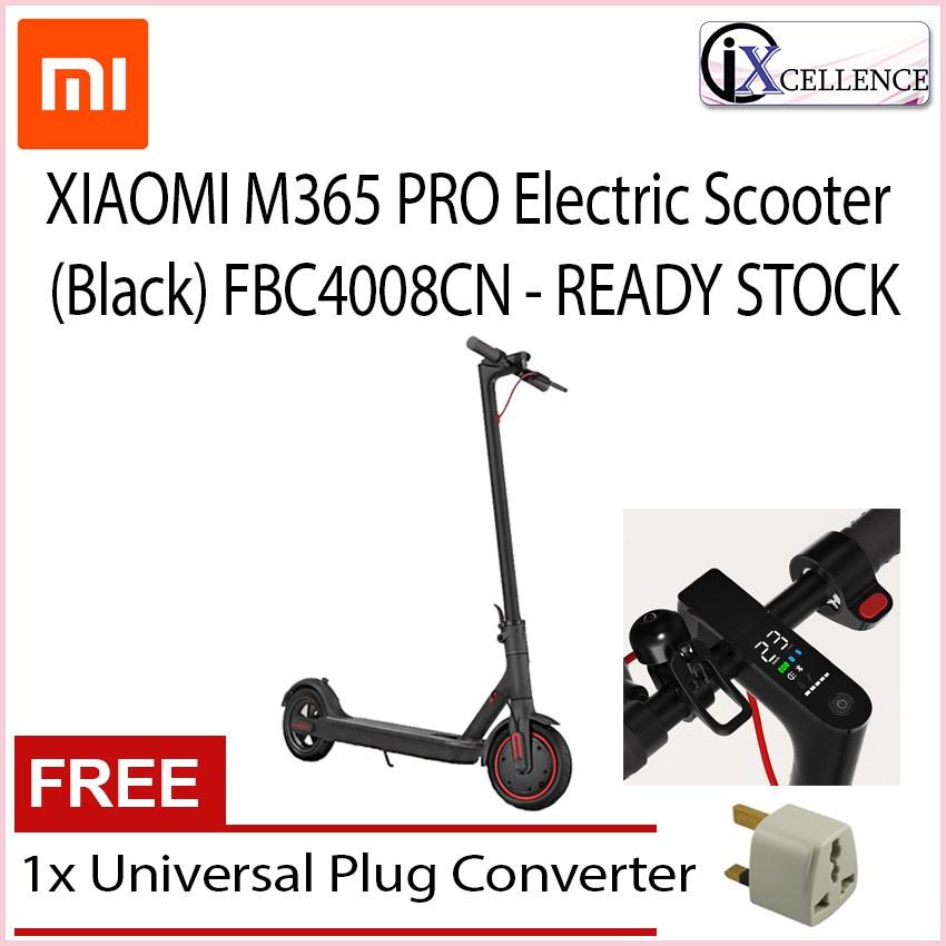 [IX] XIAOMI Mi Home M365 PRO Electric Scooter READY STOCK (Black) FBC4008CN