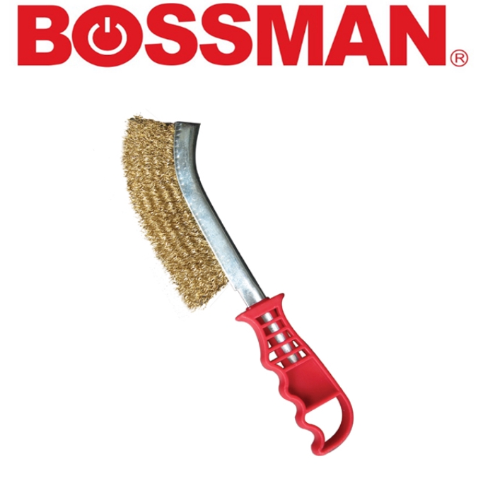 BOSSMAN BKB10 BRASS KNIFE BRUSH ACCESSORIES EASY USE SAFETY GOOD QUALITY