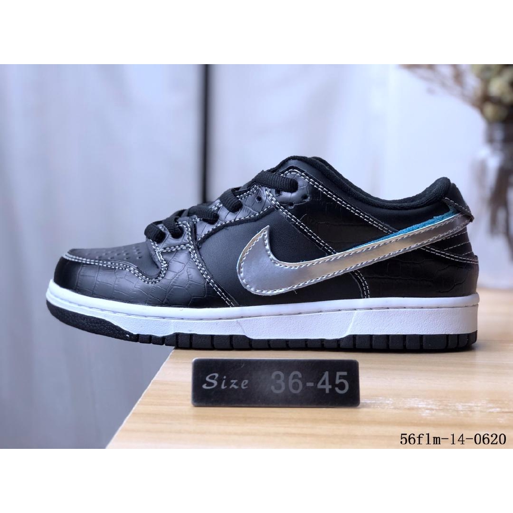 bf7299302cf Original Nike Sb Dunk Low Trd Qs for men's and women's running shoes black  size36-45