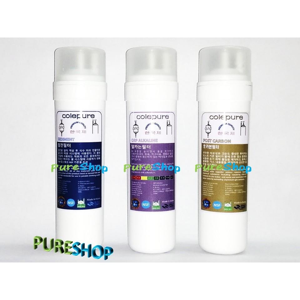 "Korea Water Filter New NSF Halal Alkaline pH 9"" Cartridge Water Purifier Dispenser"