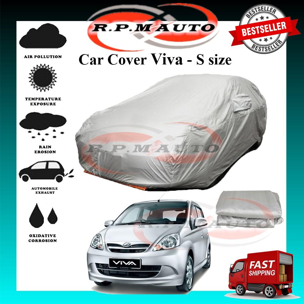 Perodua Viva High Quality Yama Car Covers - Size S (450x170x119cm) selimut kereta viva car cover viva