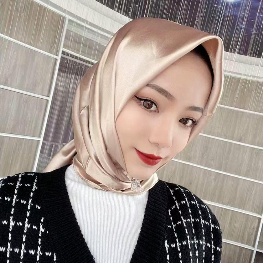 Ready Stock In Malaysia Tudung Kosong Satin Silk Tudung Bawal Hijab, Quality Terbaik *Preferred*