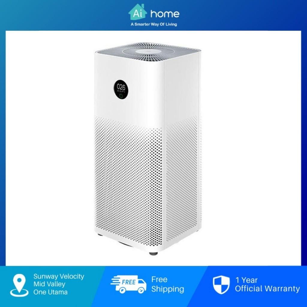 Xiaomi Mi Air Purifier 3C - True HEPA Filters | 31dB(A) Ultra-low Noise | Smart Control by App | Digital LED [Aihome]