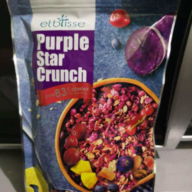 Biogreen Etblisse Purple Star Crunch 220g   Shopee Malaysia