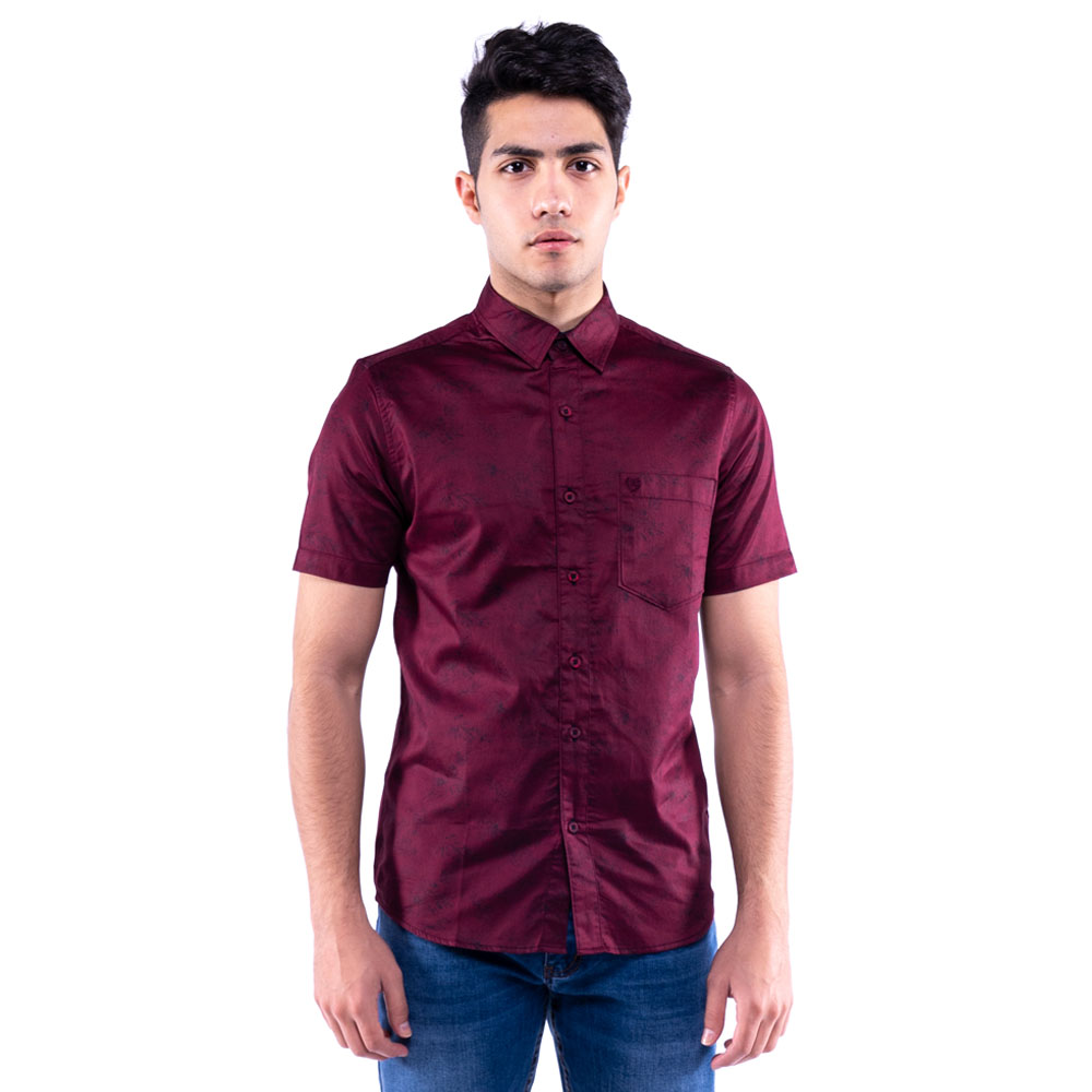 Rav Design 100% Cotton Woven Shirt Short Sleeve |RSS31453201