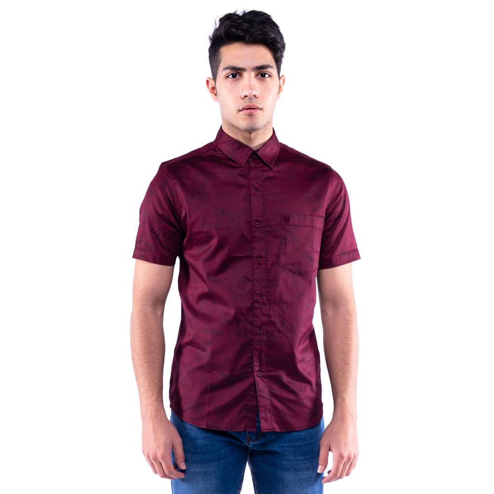 Rav Design 100% Cotton Woven Shirt Short Sleeve |RSS31453201