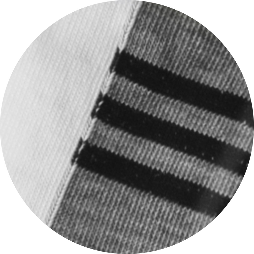 Semlouis Ladies Low Cut Socks - White with Coloured Stripes Base