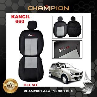 PERODUA KANCIL 660 / 850 TYPE R FULL SET SEAT COVER