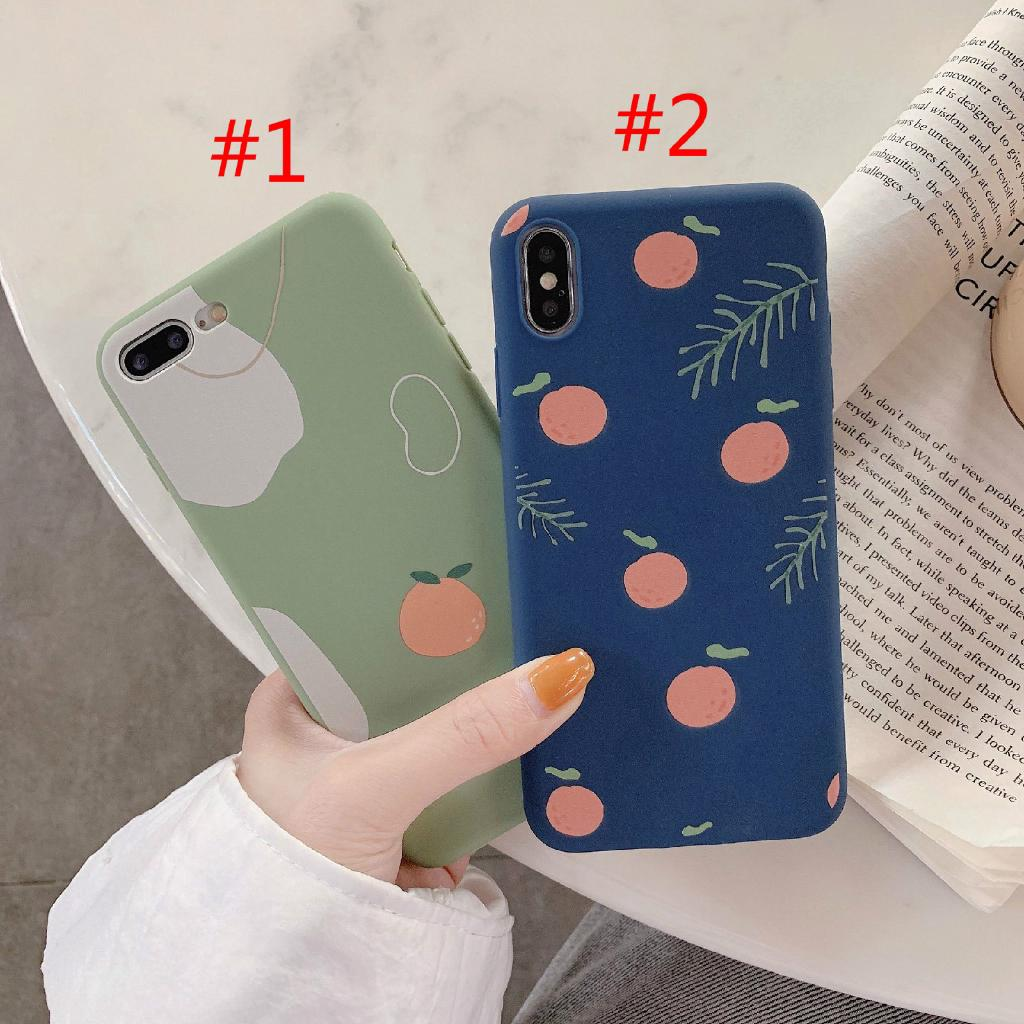 628b780e31d163 IPhone Soft Cover Korean Phone Case IPhone 6/6s 7/8 6splus 8plus XS XR  XSMAX Orange Phone Case Soft Case Matte Covers | Shopee Malaysia