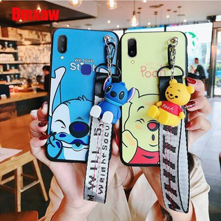 Soft case VIVO Y55 V5 V5LITE V7 V9 V11 V11i Winnie+Stitch