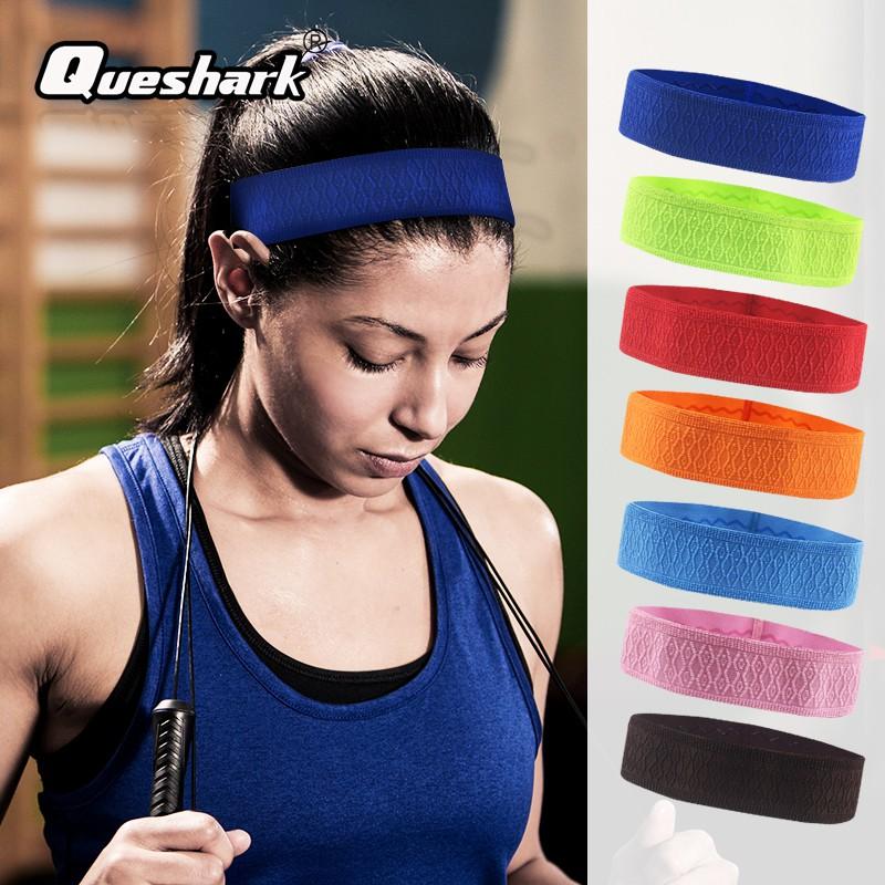 women's girls sport elastic football hairbands hair ballet headband blue red Dodatki damskie Ozdoby do włosów