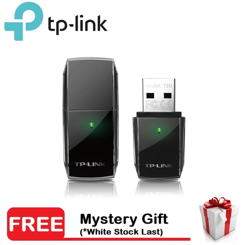 TP-Link Archer T2U AC600 Mini Wireless Dual Band USB WiFi Adapter