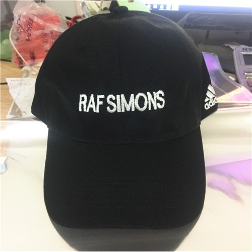 ee8e46d3b3321 Raf simons Snapback hats Women Men Baseball Cap Leisure Hats Hip Hop Caps