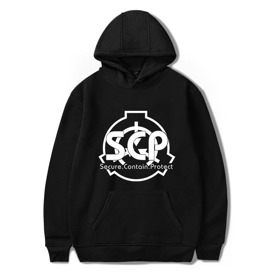 SCP Foundation Secure Contain Protect Thicken Hoodie Coat Winter Jacket Sweater