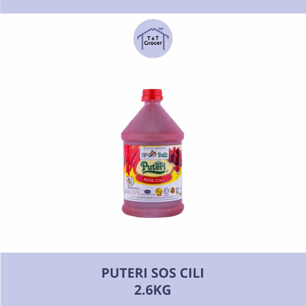 Puteri Sos 2.6kg (Chilli/ Tomato)