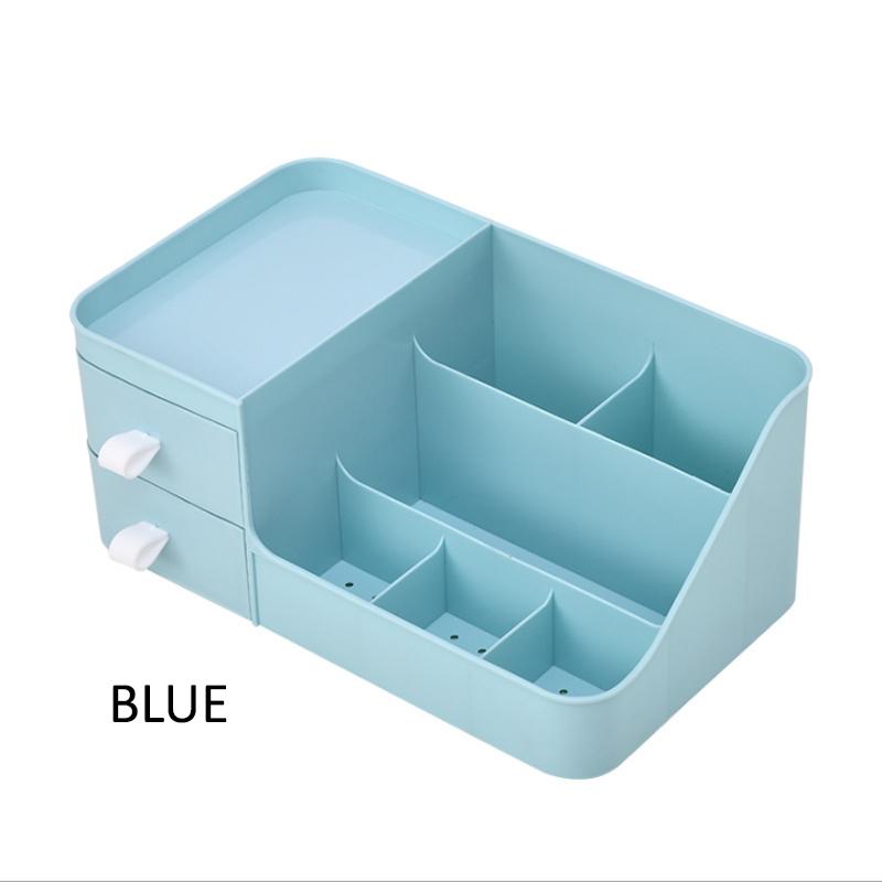 GDeal Simple Elegant Large Environmental Friendly Capacity Desktop Drawer Type Cosmetic Storage Box
