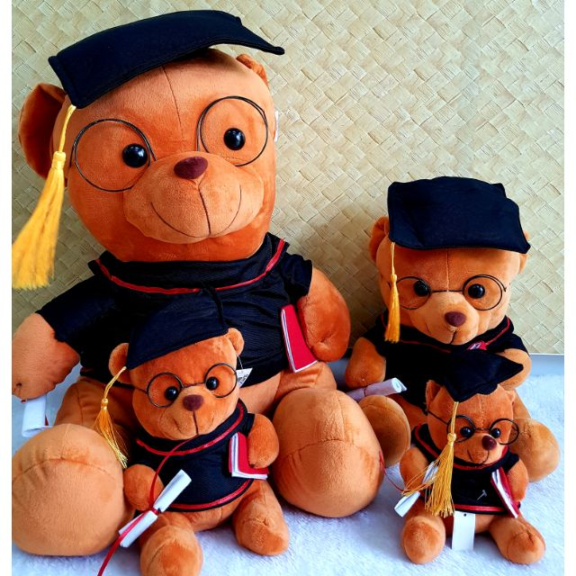 🐻 Graduation Bear Size ( XL ) 1pcs 🐻