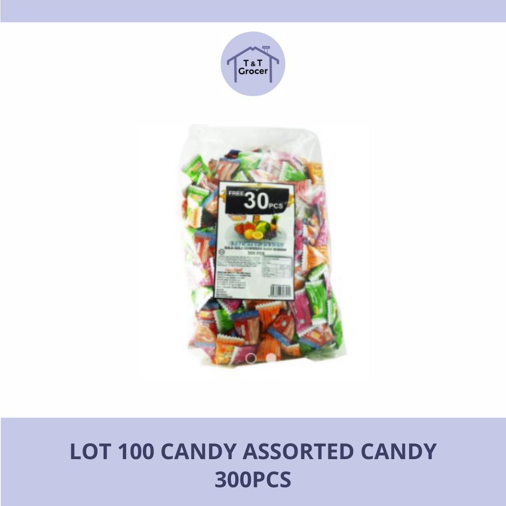 Lot 100 Candy 300pcs