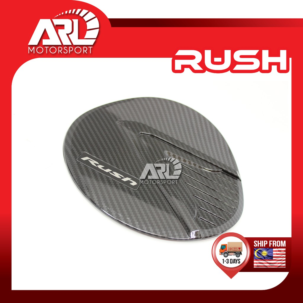 Toyota Rush F800 Petrol Cap Carbon Fiber Cover Protector Car Auto Acccessories ARL Motorsport