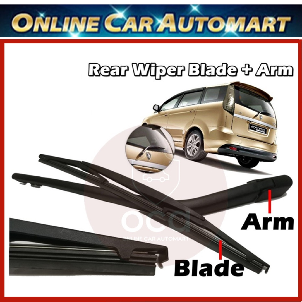 PROTON EXORA REAR WINDSCREEN WIPER BLADE / ARM