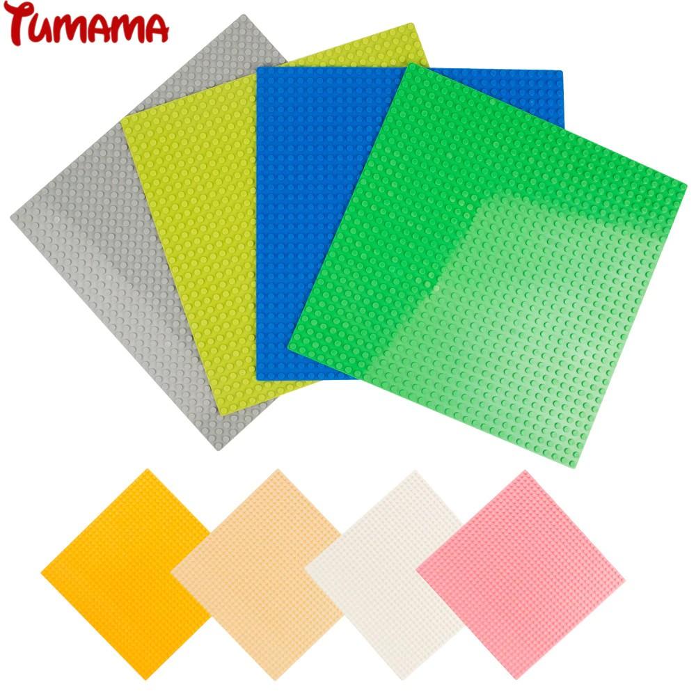 Base Plates Dots Mini Size Blocks Baseplates Legoed DIY Construction Basep