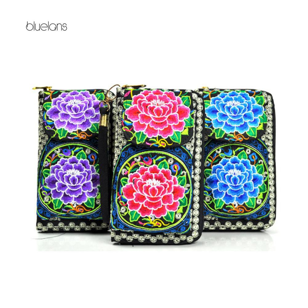877680aef9 Women's Coin Purse Money Bag Case Wallet Keys Card Pouch Big Flower Pattern  Hasp | Shopee Malaysia