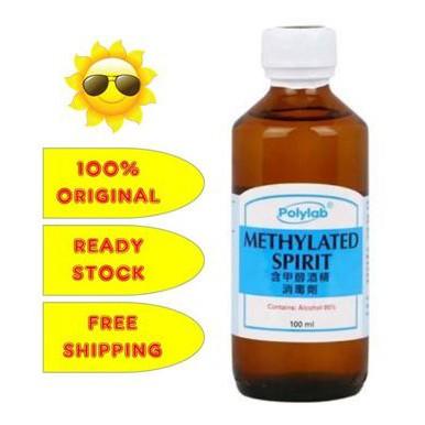 POLYLAB METHYLATED SPIRIT 95% 100ML