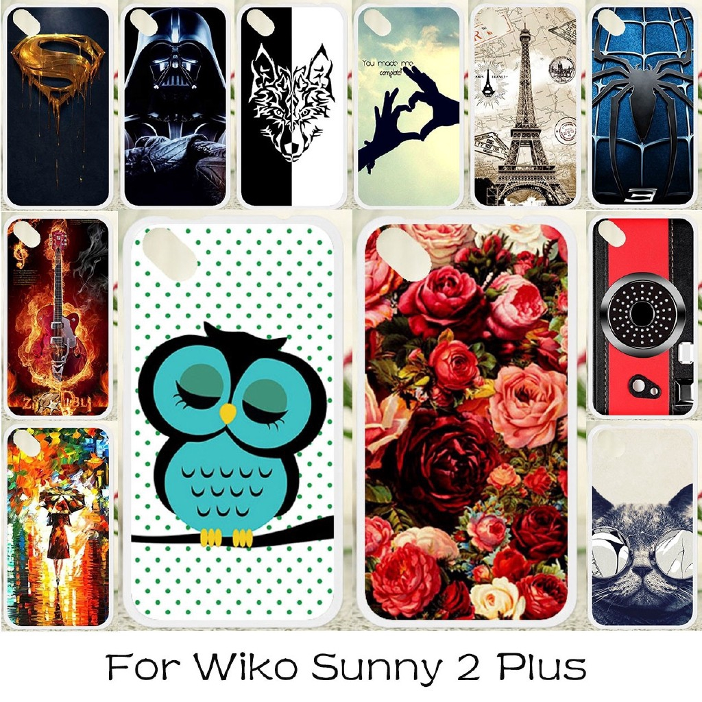 Wiko Sunny 2 Plus Sunny2 Plus Cover Phone Case Soft Cases Silicone Covers