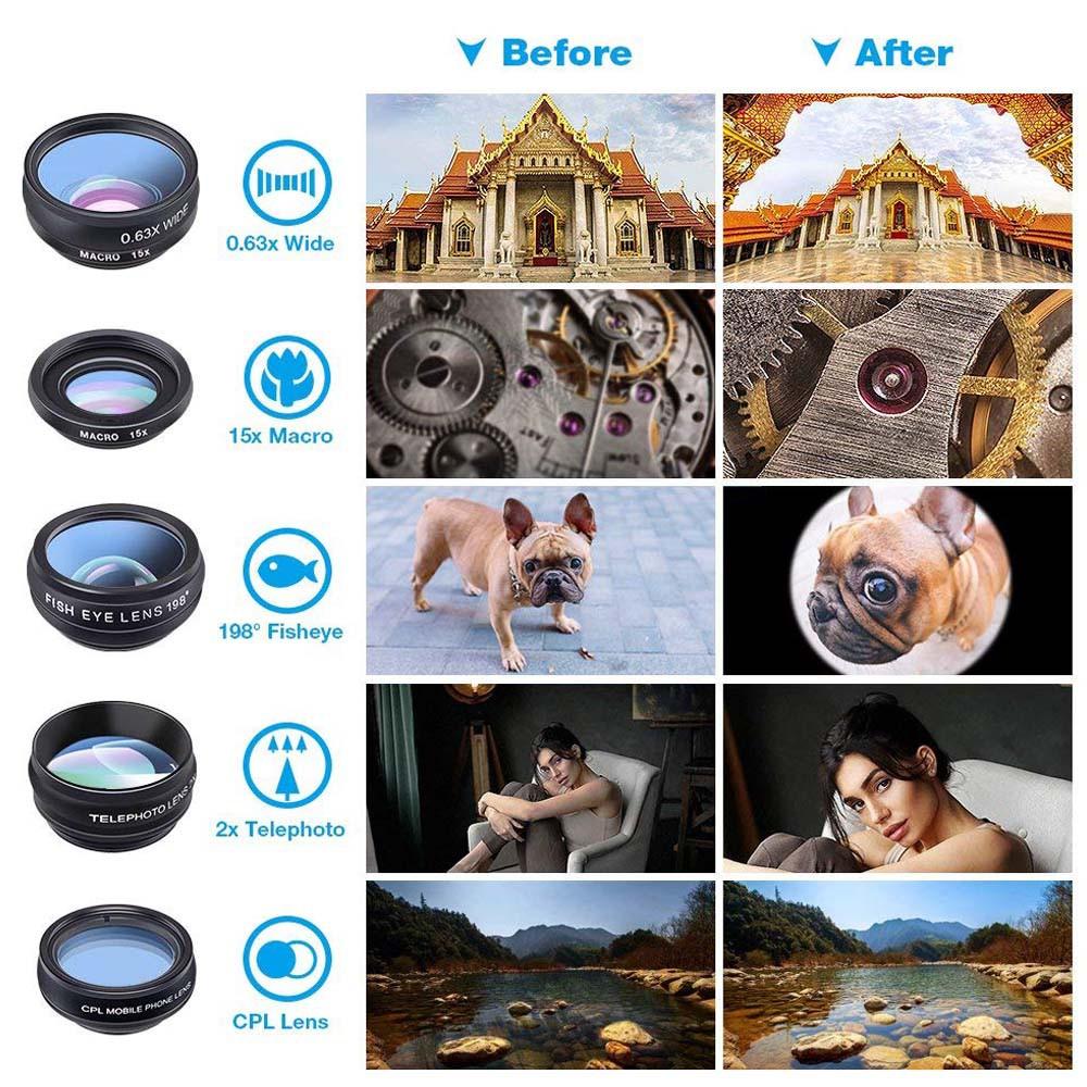 Apexel 10in1 Phone camera Lens Kit (APL-DG10)