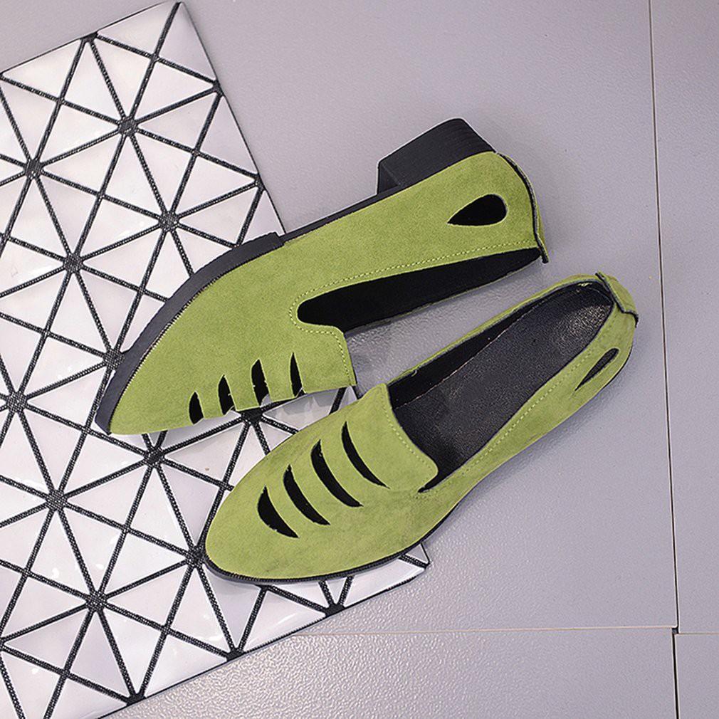71f6356795a Korean Fashion Summer Women Flat Shoes Comfortable Hollow Out Single Shoes