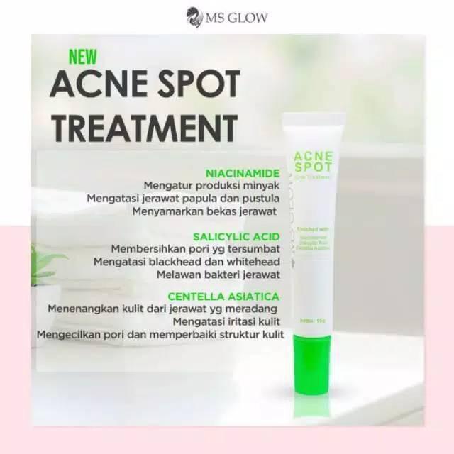 Ms. glow acne ointment / acne spot treatment ms glow ...
