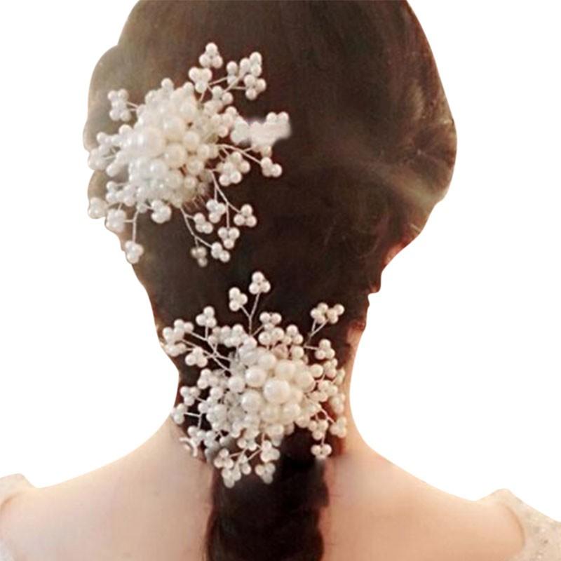 Bridal Bowknot Hair Comb Diamante Crystal Rhinestone Tiara Wedding Slide Clip
