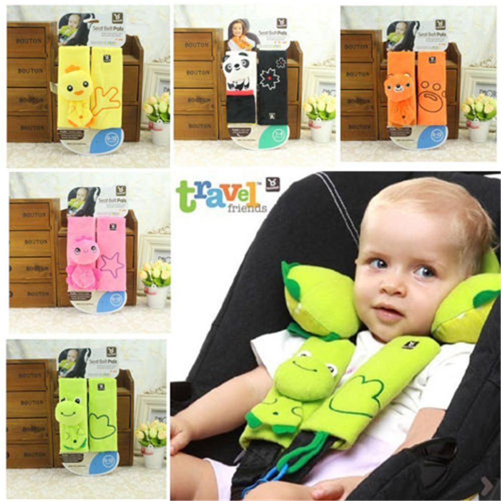 Car Pram Safety Seat Belt Strap~Shoulder Cover Harness Pads Kids Baby Head Child