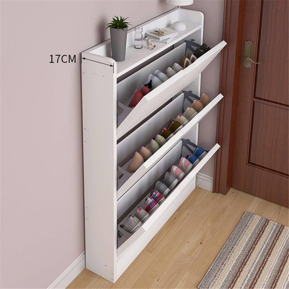 Shoe Cabinet 17cm Into The Door Porch