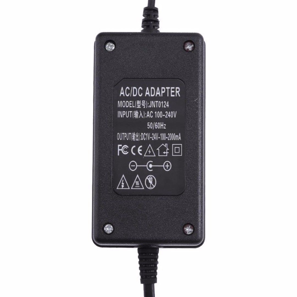 Home Audio & Video Dc 24v 2a Led Power Switching Supply Adapter Ac100-240v To Dc24v 48w Transformer For Amp Led Strip Eu Plug Excellent In Cushion Effect