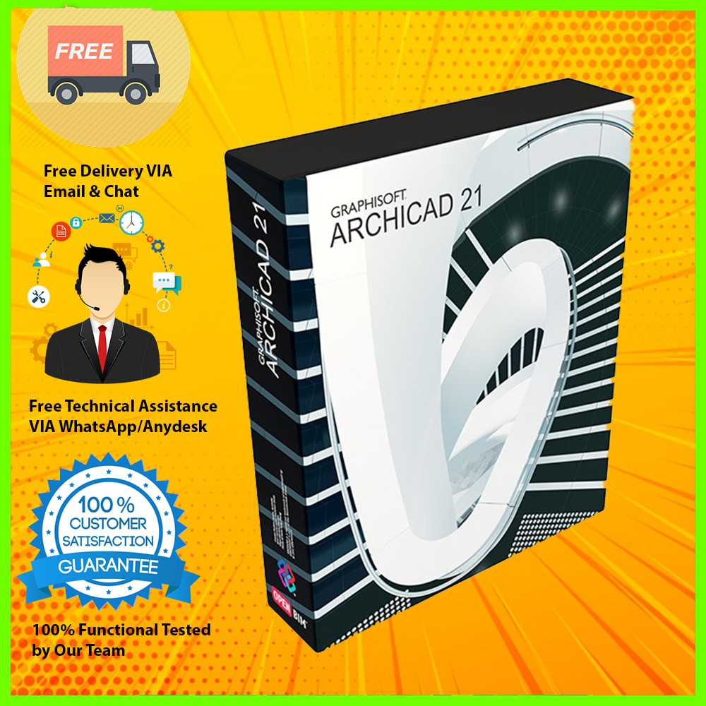 GRAPHISOFT ARCHICAD 21 2018 Full Version