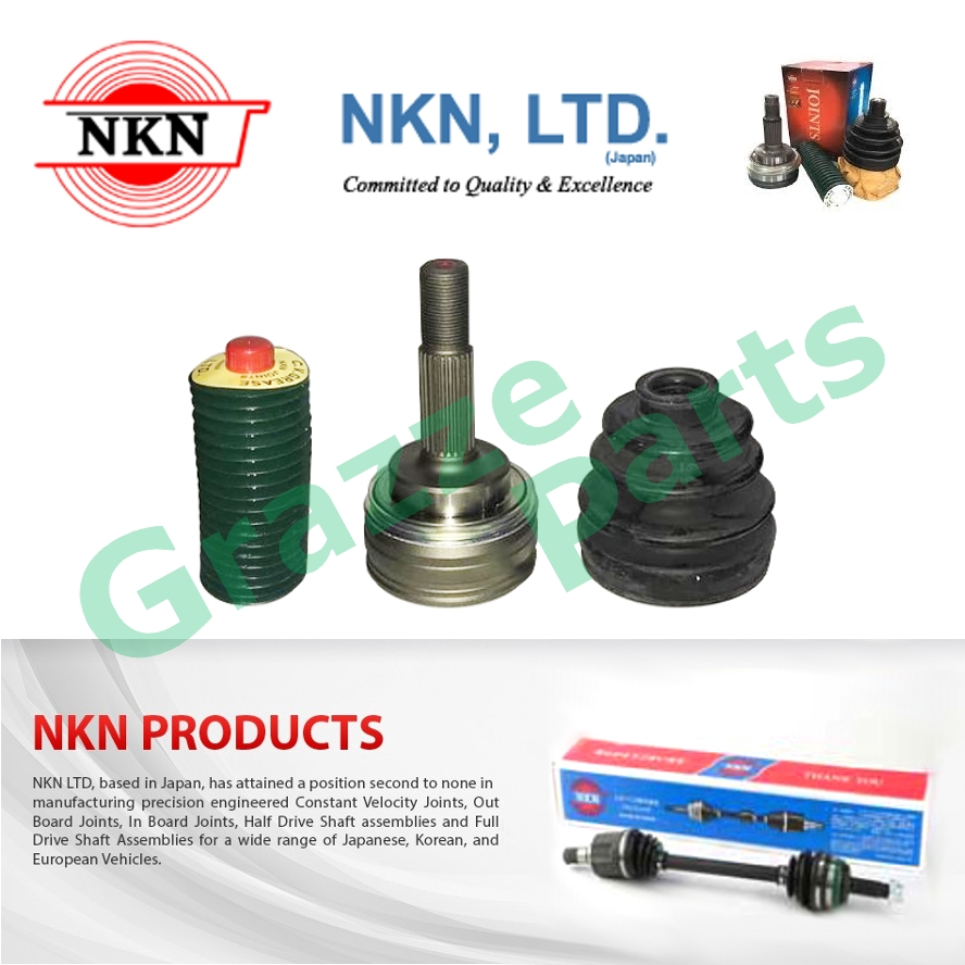 NKN C.V. CV Constant Velocity Joint Outer for N-1255-2H Toyota Vios NCP42