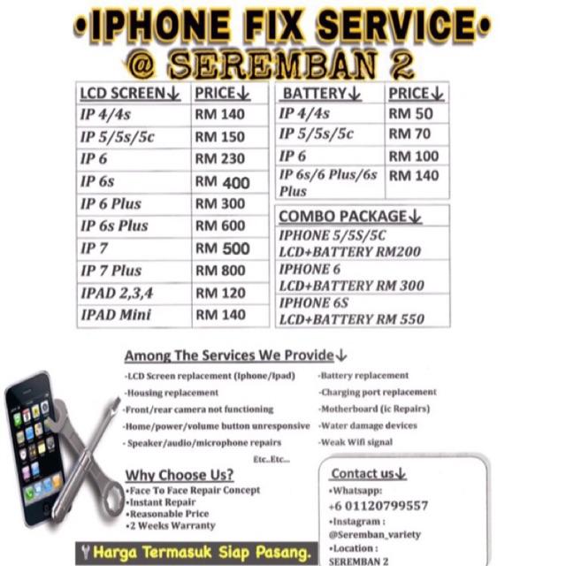 wholesale dealer 23e3e 8b09b REPAIR IPHONE @SEREMBAN