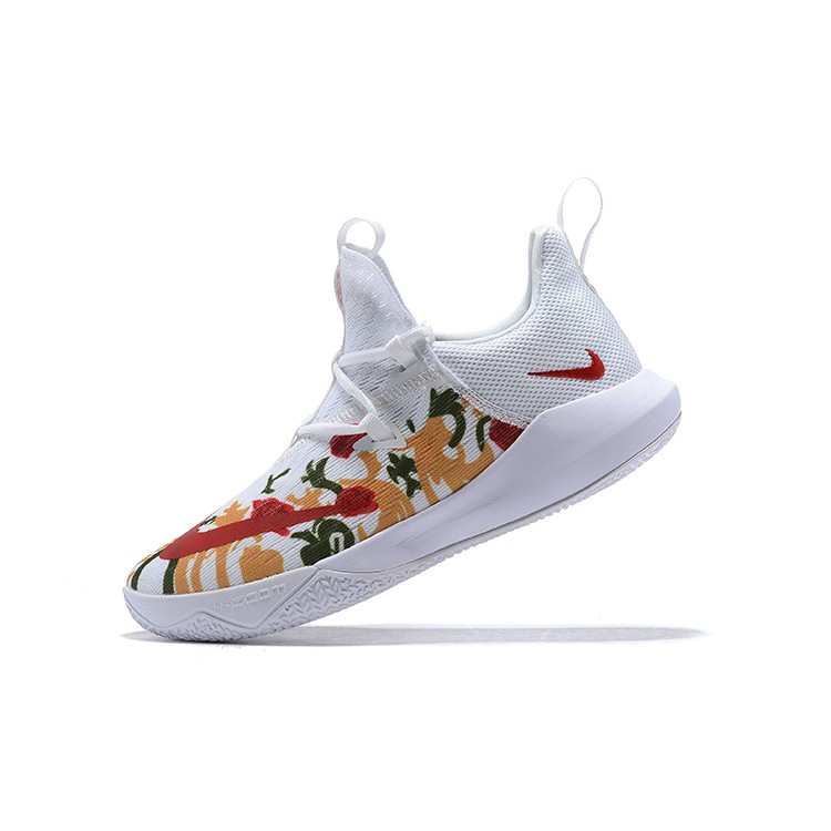 tos Frase Con otras bandas  Nike Zoom Shift 2 EP White Flowers Wear-Resisting Mens Basketball Shoes For  Top Quality | Shopee Malaysia