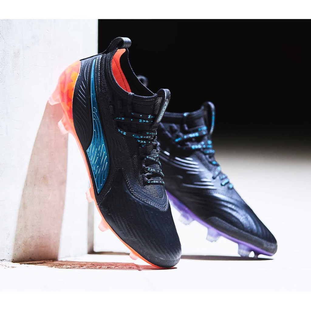 Puma One 19.1 Limited Edition MVP FG/AG men's knitted football shoes new  soccer shoes, size 39-45 free shipping