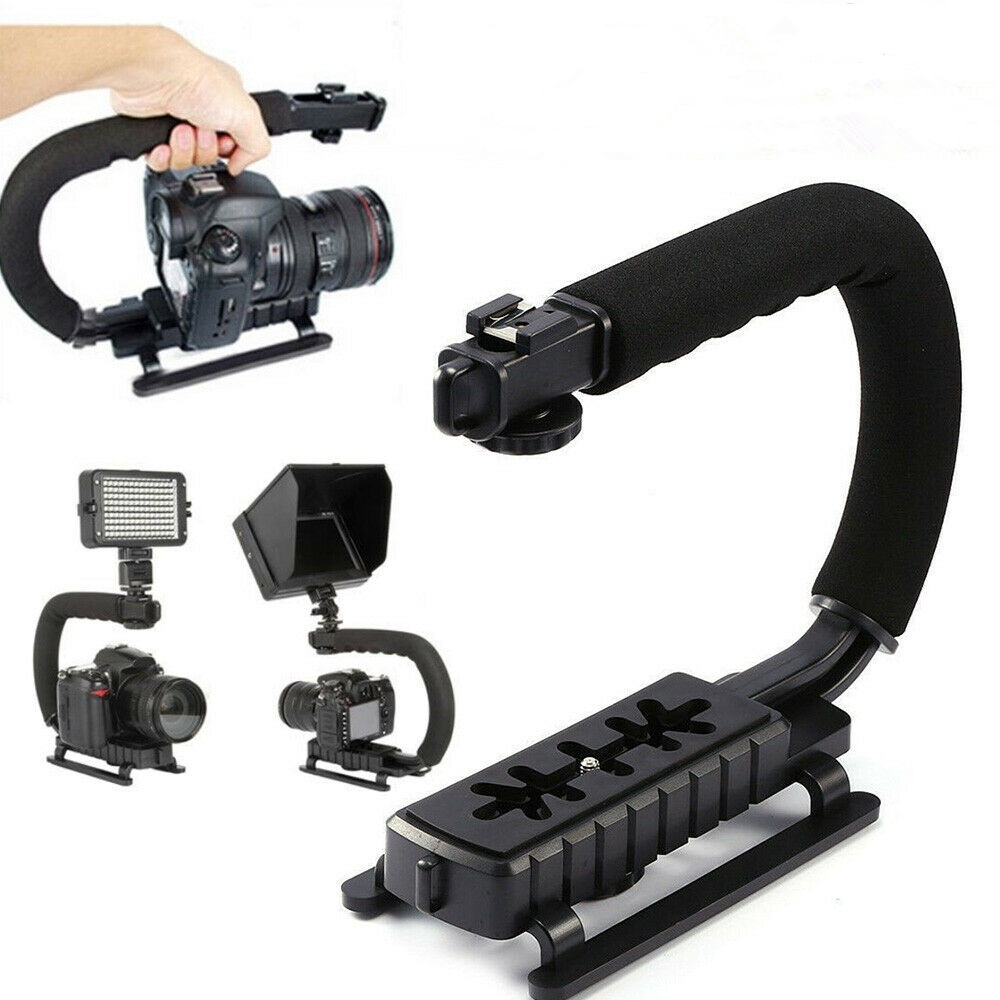 Pro Video Stabilizing Handle Grip for Canon PowerShot S60 Vertical Shoe Mount Stabilizer Handle