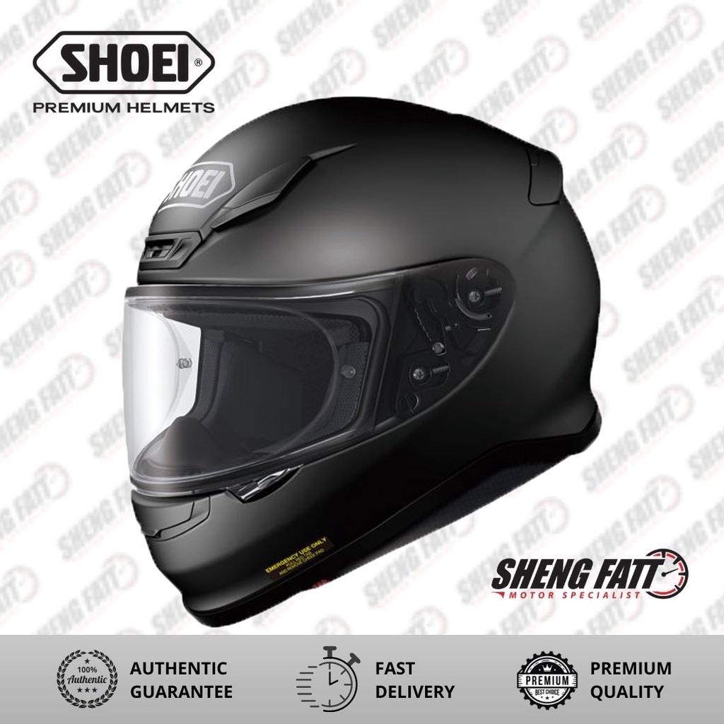 SHOEI Z7+ MATT BLACK Full Face Helmet for Motorcyclist Superbike