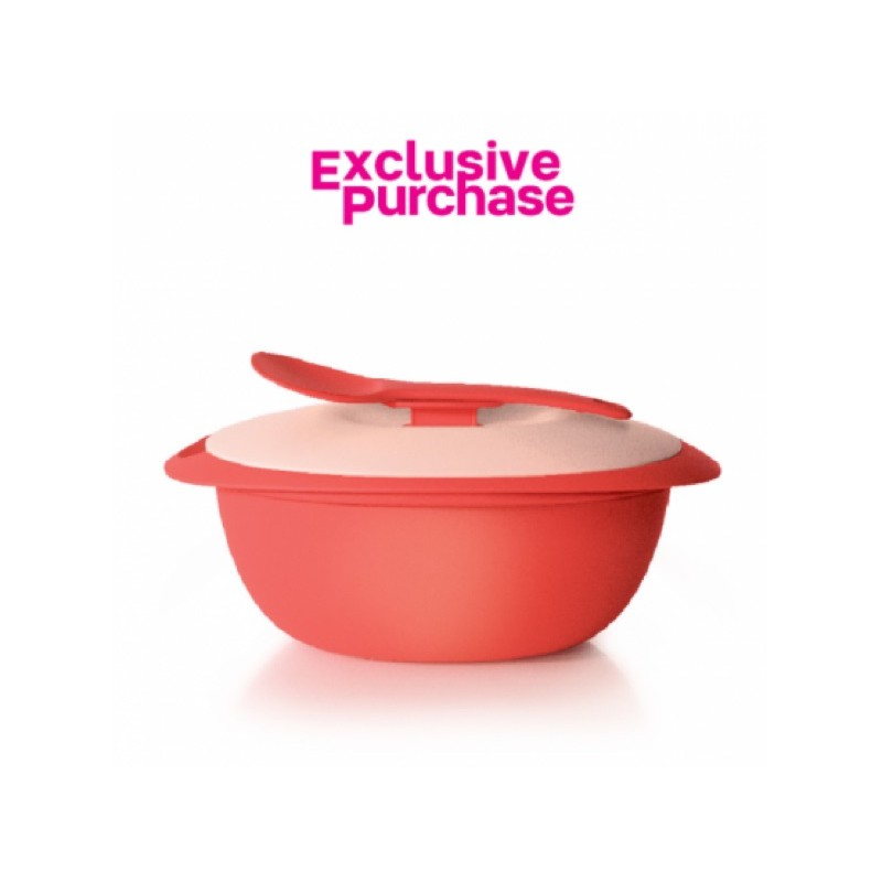 🍏Tupperware Blossom Rice Server with Spoon (1) 3L