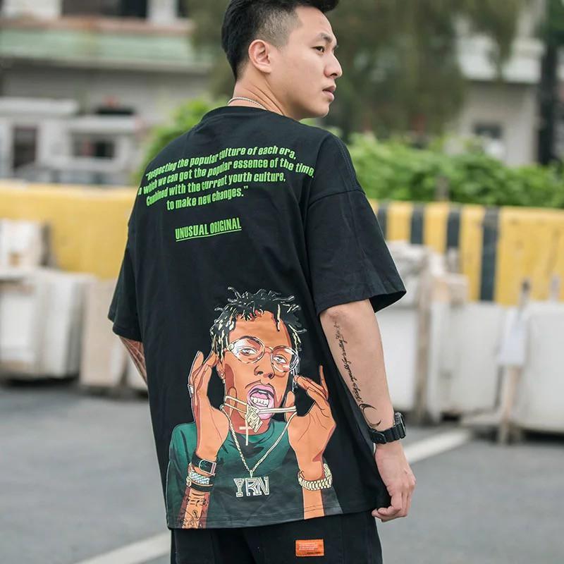 2ca3301b2d95 NEW] UNUSUAL ORIGINAL Fashion Streetwear Hip-Hop Tee T-Shirt Rich ...