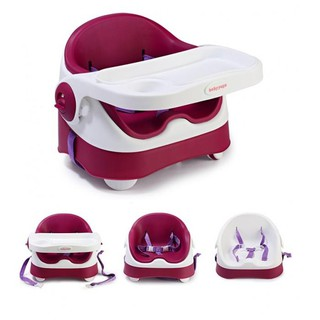 Babyyuga Baby Booster Seat Dining Chair With Soft Cushion Shopee