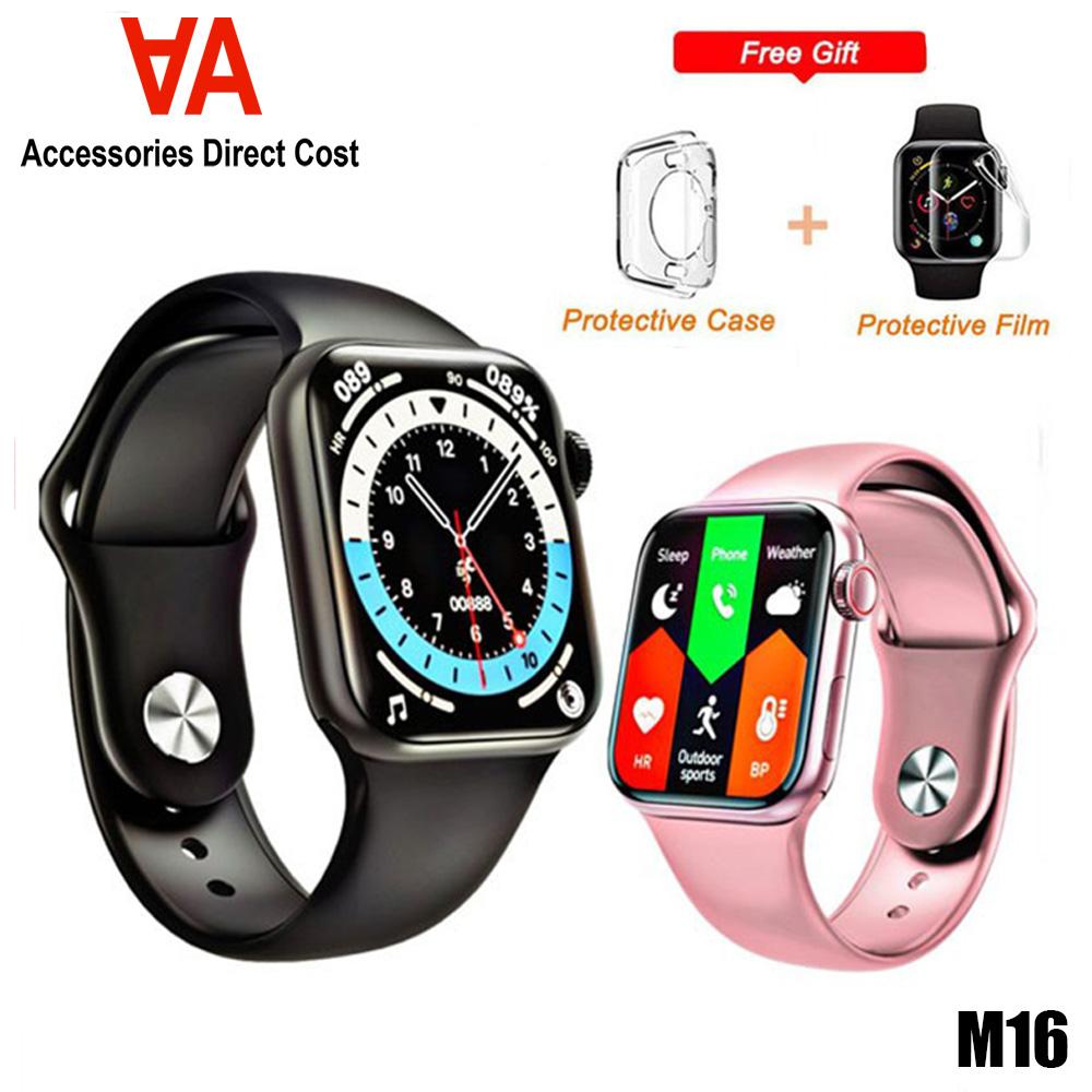 M16 Smart Watch Men 3D Dynamic 1.7 inch Custom Dial Passcode Bluetooth Call 44mm  The best Smartwatch