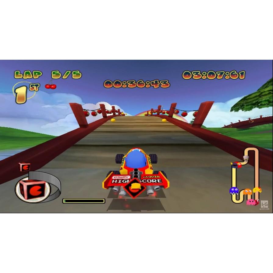 PS2 Game Pac Man World Rally, Racing Game, English version / PlayStation 2