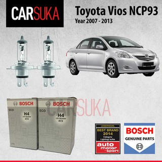 Bosch Headlamp HeadLight H4 Light Bulbs for Toyota Vios