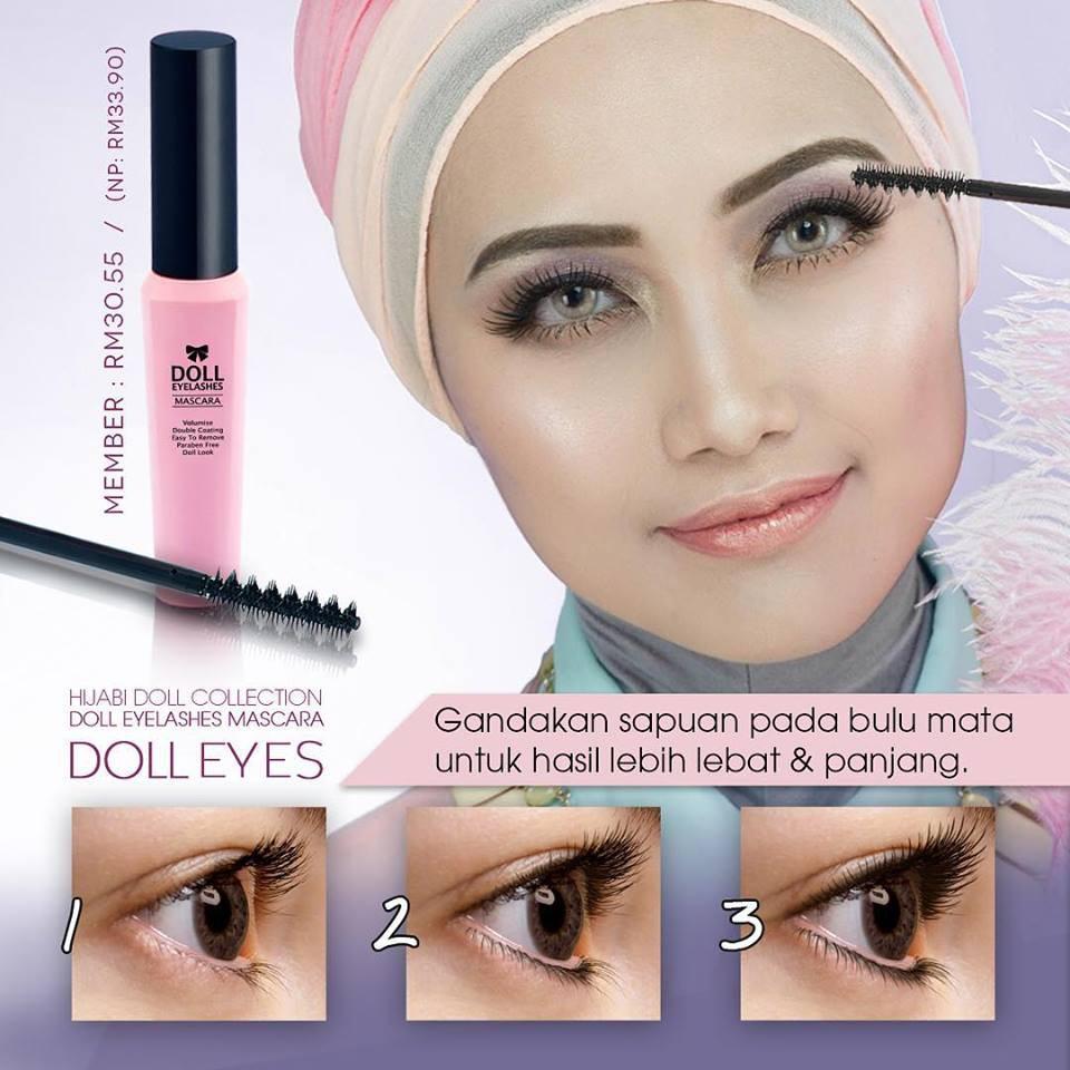 Sendayu Tinggi Doll Eyelashes Mascara Shopee Malaysia