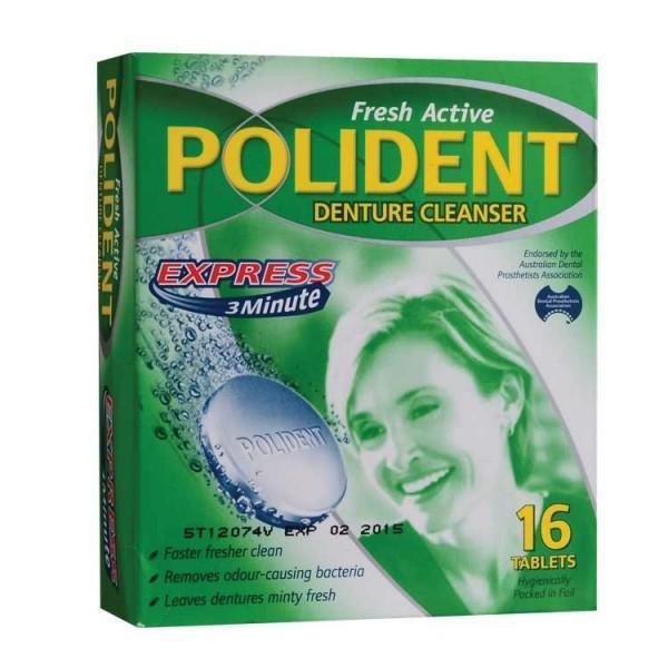 Polident Denture Cleanser 16S